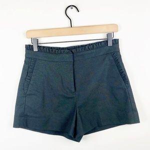 J. Crew Ruffle Tuxedo Shorts